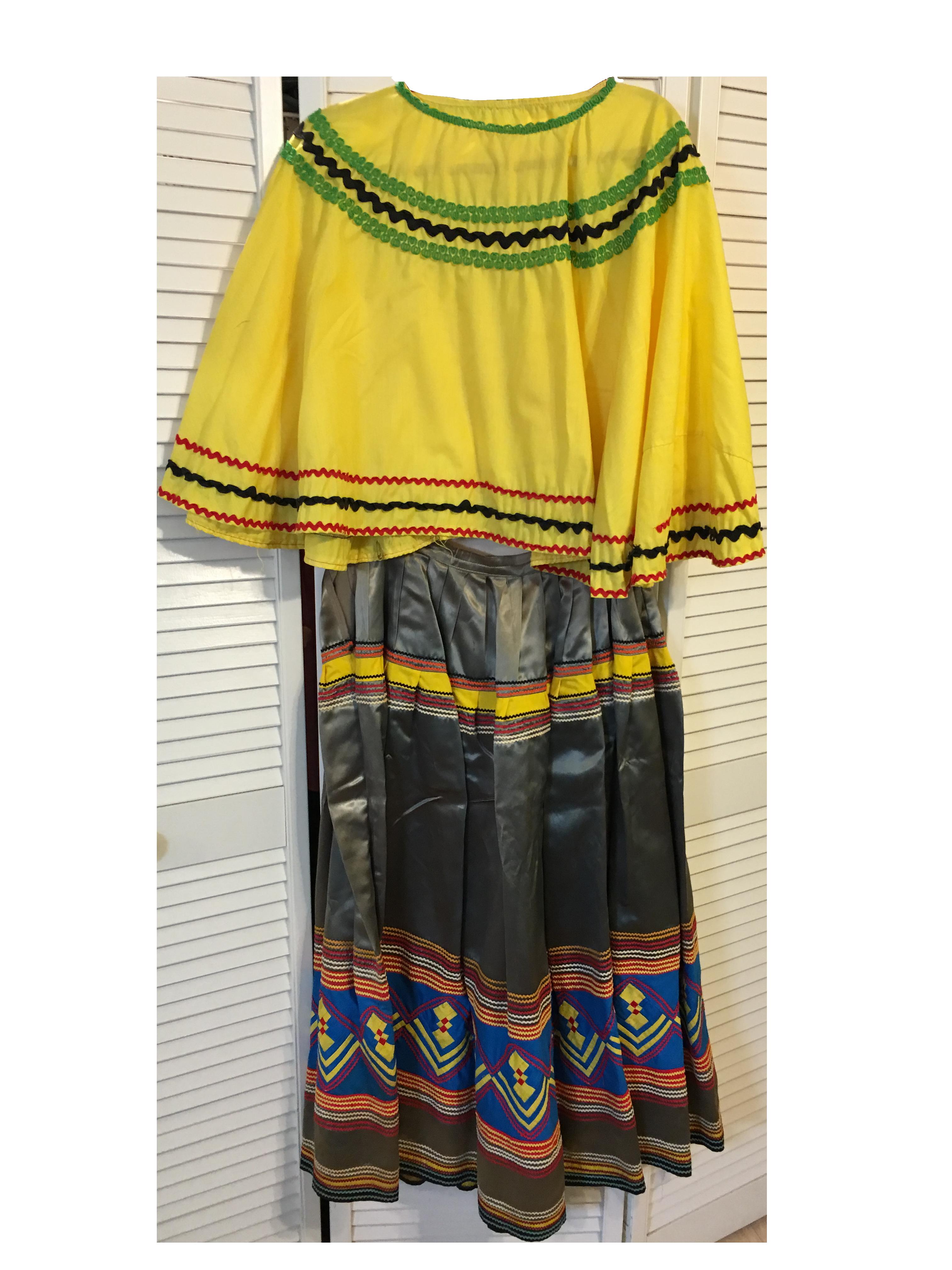 original handmade Seminole Outfit