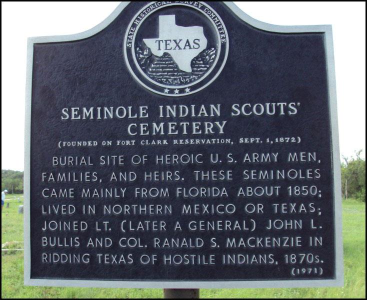 Seminole Scout Marker