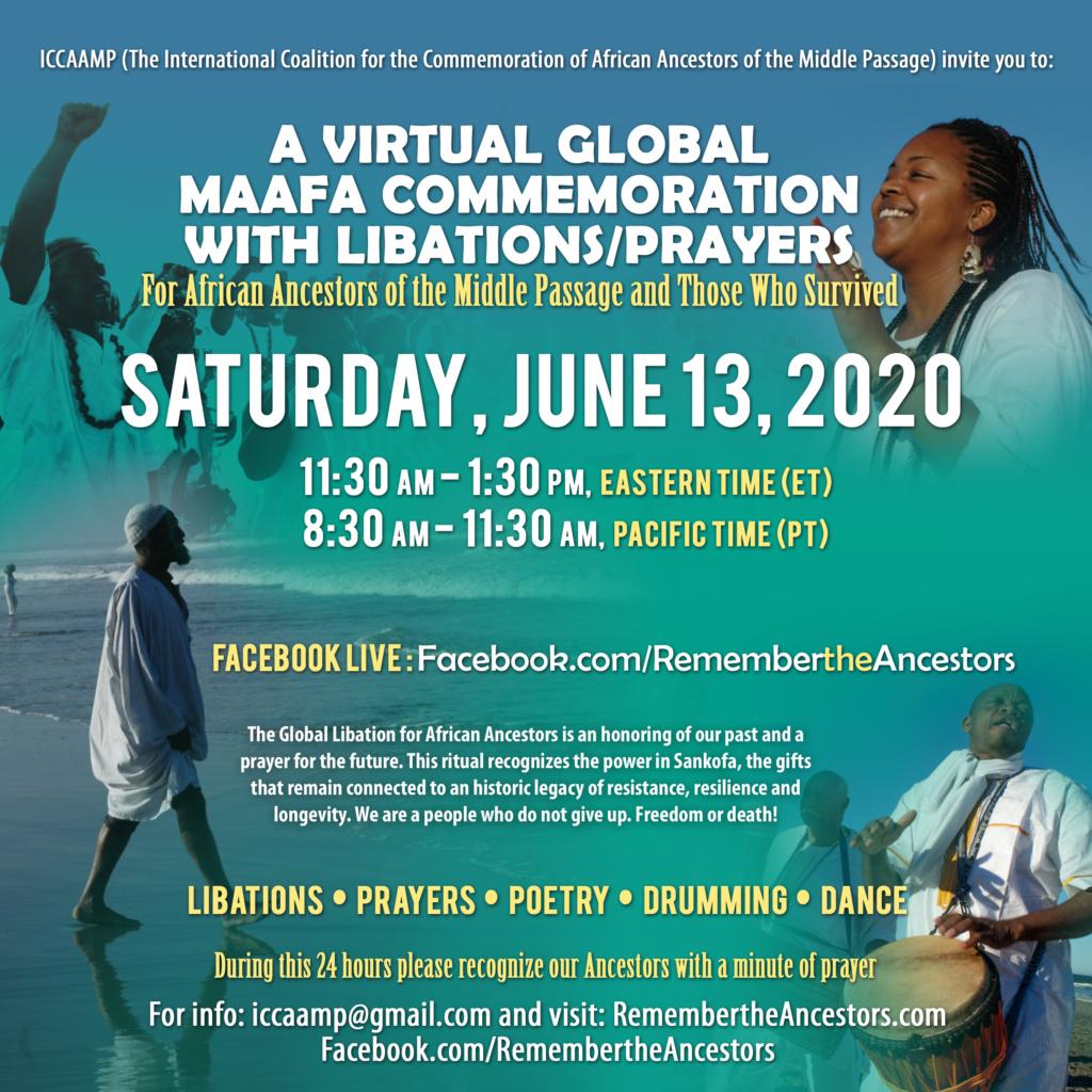 2020 MAAFA Commemoration Weekend